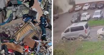 Разнесло 8 квартир, есть жертвы: в сети появилось видео взрыва в многоэтажке России
