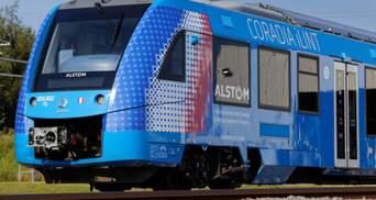 Франция испытывает первый в мире водородный поезд: видео