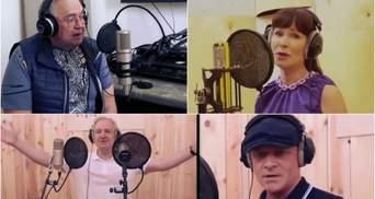 Труханов та Гриневецький заспівали з російськими артистами, які підтримують агресію Кремля