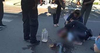 Очнулась школьница, которую сбил несовершеннолетний сын полицейского в Одесской области