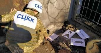 Українські військові показали наслідки обстрілу Мар'їнки бойовиками: фото руйнувань