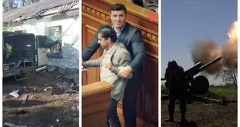 Потасовка Лероса и Тищенко и серьезное обострение на Донбассе: главные новости 9 сентября