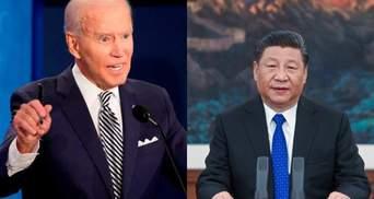 """""""Протистояння принесе катастрофу"""": Байден вперше за понад пів року поговорив з лідером Китаю"""