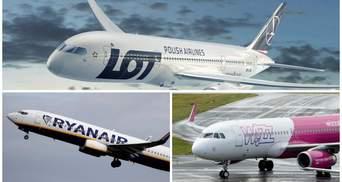 Польша открылась для туристов: список 27 доступных авиасообщений с Украиной