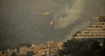 Крупный пожар на юге Испании: есть первые жертвы