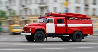 В Чернигове загорелось кафе: есть пострадавший