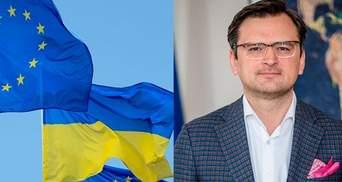 Не Украина не готова к пути в ЕС, а ЕС – не готов принимать Украину, – Кулеба