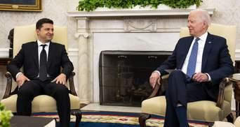 Байден поддерживает вступление Украины в НАТО, – Зеленский