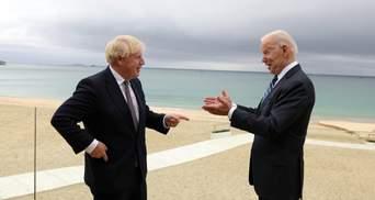 Премьер Британии проведет переговоры с Байденом: СМИ назвали место и дату