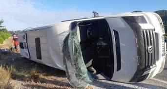 В Турции произошла авария с участием автобуса с украинцами: есть жертва и десятки пострадавших