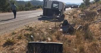 Травмированы 35 украинцев, – в МИД рассказали детали об аварии в Турции