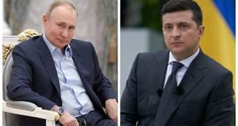 Путін відмовився від зустрічі з Зеленським для обговорення Криму й Донбасу
