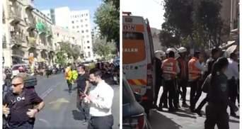 В Израиле совершили теракт: мужчина с ножом набросился на прохожих