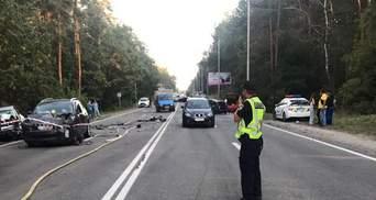 Масштабное ДТП с 8 авто в Киеве: подозреваемого взяли под стражу