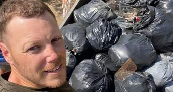 """Активісти прибрали пляж Одеси від сміття: фото """"до"""" та """"після"""""""