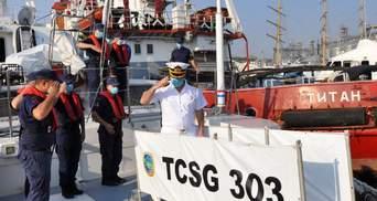 В порт Одеси з дружнім візитом навідалась берегова охорона Туреччини