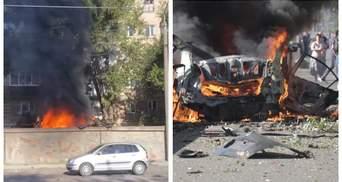 От ударной волны выбило окна: в Днепре взорвалось авто – есть жертвы