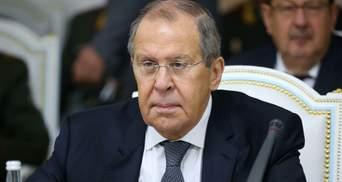 """Лавров звинуватив Україну у """"клянченні"""" грошей через """"Північний потік-2"""""""