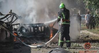 Теракт в Днепре: все, что известно о взрыве авто и погибших – фото, видео