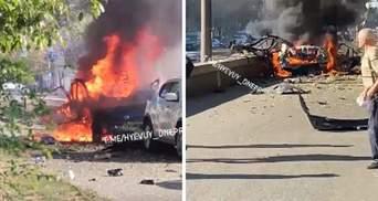 Ужасный взрыв в Днепре: появилось видео с места происшествия