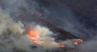 Выжгла почти 10 тысяч гектаров: в Испании на 6 день все же укротили разрушительный пожар
