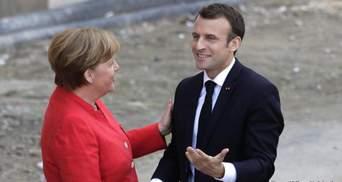 Меркель проведет одну из последних встреч с Макроном: среди тем – и Украина