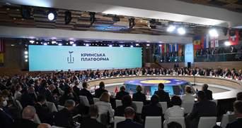 На Московії – істерика: висновки за результатами Кримської платформи