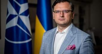 Окупант – це єдиний статус Росії на Донбасі й у Криму, – Кулеба