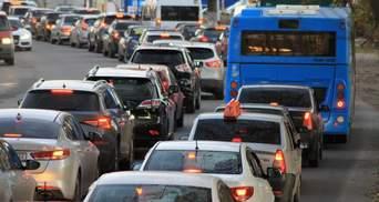 У Києві 17 вересня утворились сильні затори: список вулиць