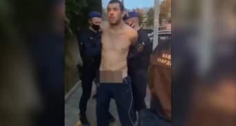 Показал гениталии нацгвардейцам: в Одессе задержали неадеквата с пеной на рту