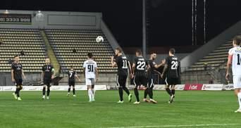 Заря в напряженном матче разгромила Черноморец: видео