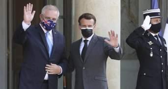 """""""Понимает глубокое разочарование"""": Австралия отреагировала на решение Франции отозвать посла"""