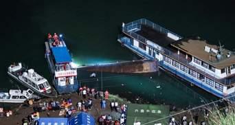 У Китаї потонуло пасажирське судно: вже 10 загиблих, є постраждалі