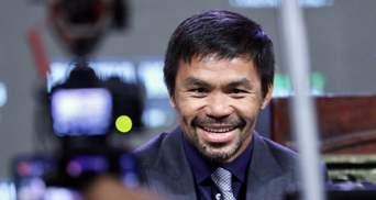 Боксер Менні Пак'яо балотується в президенти Філіппін