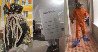 Голосование на пеньках и конь в пальто: как в России прошли выборы в Госдуму