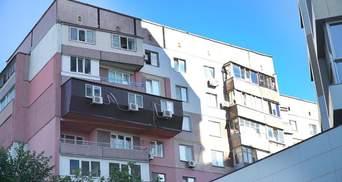 """Балкон, как гроб"": в Днепре заметили архитектурное ноу-хау на панельке"
