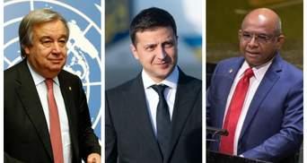 Зеленський у США поспілкувався з генсеком ООН та головою Генасамблеї