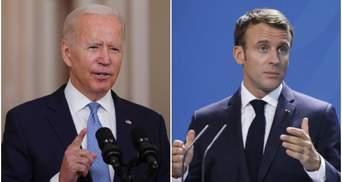 Удар по самолюбию: униженная Франция под натиском Байдена отступает