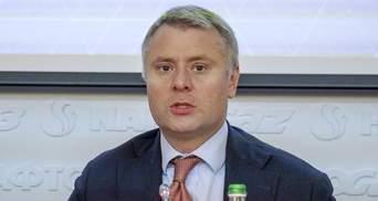 """Транзит газу через Україну – обов'язкова умова сертифікації """"Північного потоку-2"""", – Вітренко"""