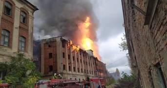 У Мукачеві сталася масштабна пожежа на території колишнього заводу: моторошні фото