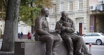 У Києві з'явився інтерактивний пам'ятник рятувальникам: фото зворушливої локації