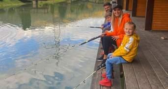 Ірина Федишин показала, як провела вихідний з чоловіком і синами: яскраві фото
