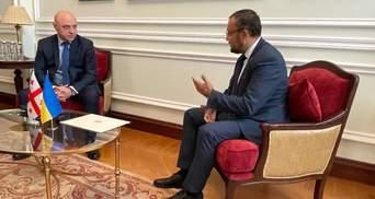 Новий посол Грузії дав роз'яснення МЗС у справі Саакашвілі
