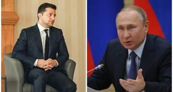 На зустрічі з Зеленським Путін хоче говорити про санкції, а не про Донбас і Крим, – ЗМІ