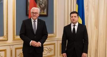 Німеччина – важливий партнер України в Європі, – Зеленський після зустрічі зі Штайнмаєром