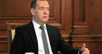 """""""Неосвічені люди, які безперервно брешуть"""": Медведєв вважає перемовини з Україною безглуздими"""