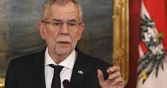 Правительственный кризис окончен – заявил Президент Австрии и назвал имя нового канцлера