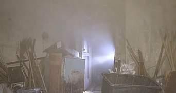Пожар в школе Днепра: во всем обвиняют сторожа