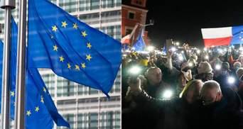 """Решение Польши по европейскому праву """"угрожает разрушить"""" Евросоюз, – Еврокомиссия"""
