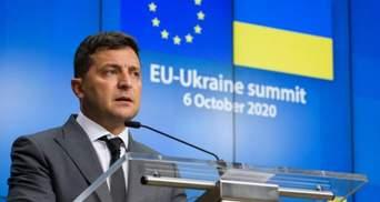 """Киев стремится подписать соглашение о """"промышленном безвизе"""" на следующем саммите, – Зеленский"""
